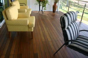 wooden floor deck