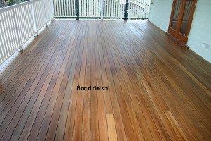 flood finish deck