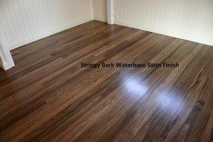 stringy bark water-base satin finish