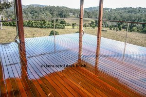 sikkens finish outdoor wooden floor