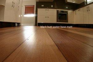 matte wooden floor