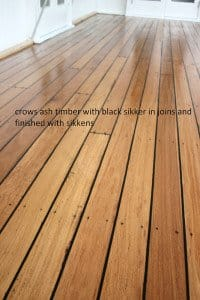 crows ash timber floor