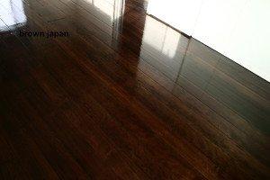 brown japan wooden floor