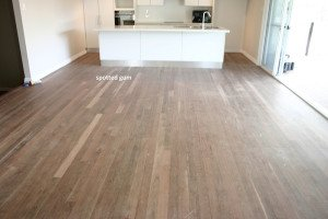 unpolished wooden floor
