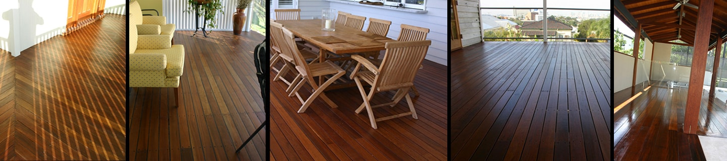 outdoor wooden floor