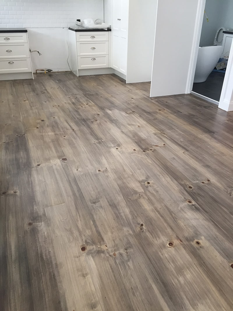Max Francis Quality Floors Pine Mixed Finish Brisbane