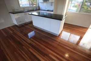 semi gloss finish wooden floor