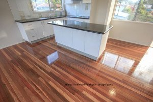 mixed hardwood finished in estapol gloss