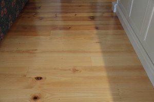 mixed style wooden floor