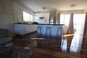 hardwood gloss floor