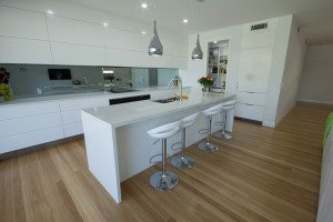 kitchen wooden flooring