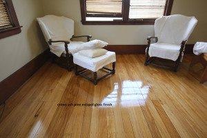 crows ash pine estapol gloss finish floor