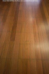 old wooden flooring