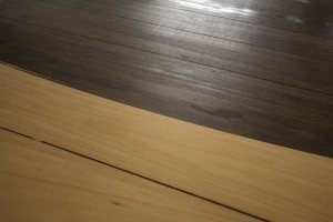 mixed wooden floor