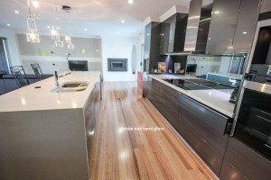 oak semi gloss floor