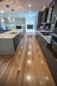 kitchen wooden flooring