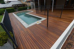 outdoor wooden flooring